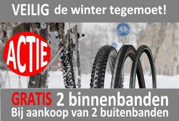 Daar is de winter!